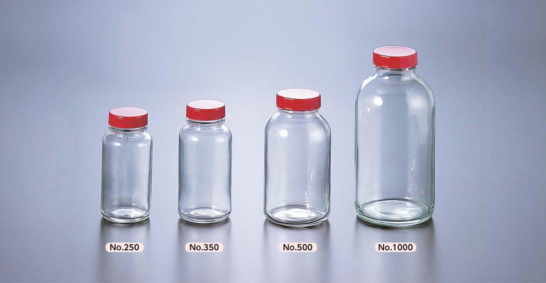 広口瓶 透明