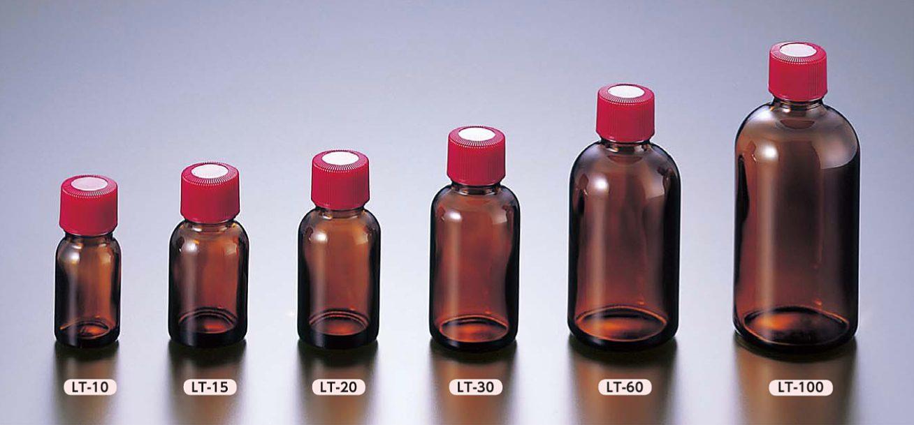 細口規格瓶 褐色